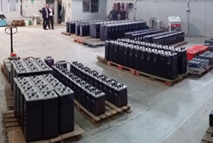 360 batteries regenerated in 4 months