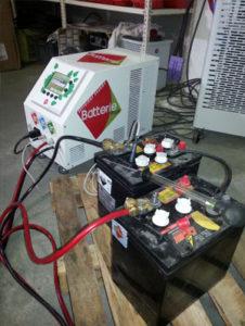 Batteries regeneration BRT10