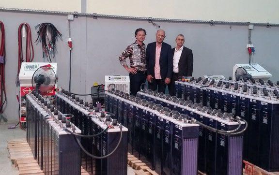Maroc 360 batteries regenerates in 4 months