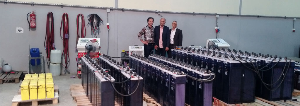 Maroc 360 batteries regenerates in 4 months