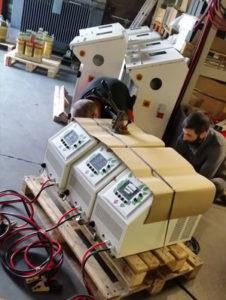 Powerful batteries regeneration