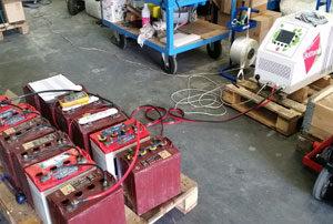 Workshop batteries regenerator