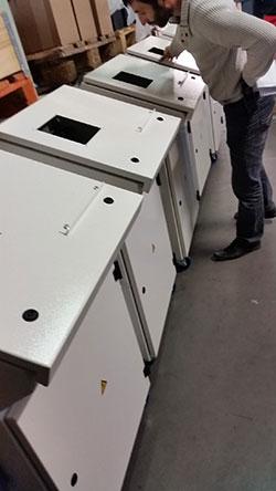 Regenerateur batteries/battery pupitre