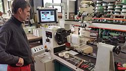 French workshop batteries regenerator