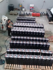 Batteries less costly recycle batteries