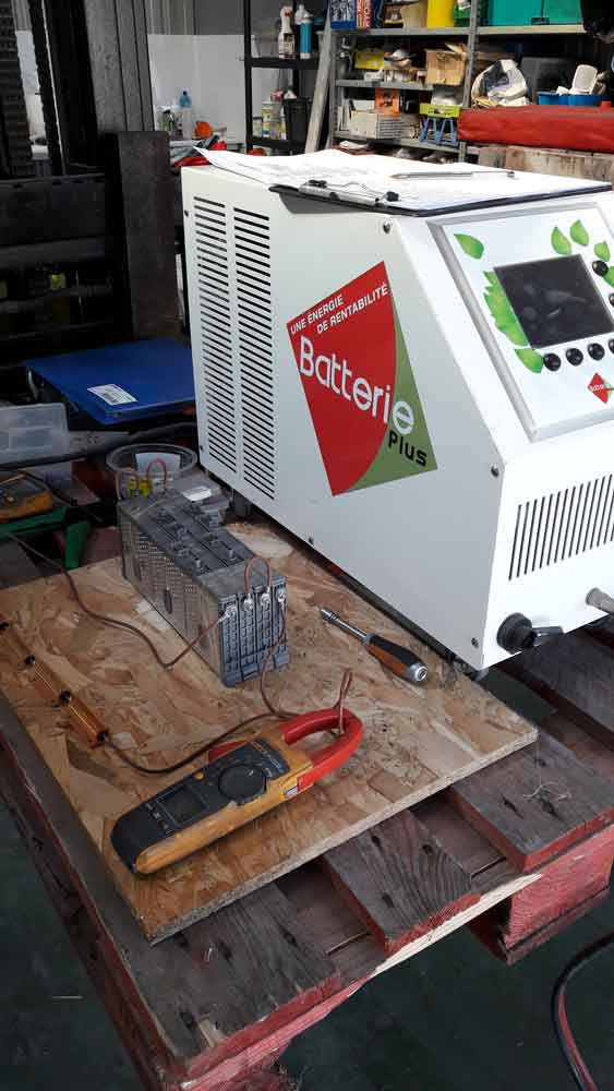 Battery regeneration Toyota Prius
