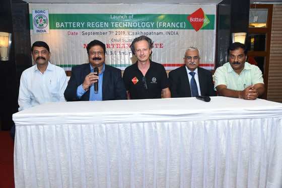 Regenerate batteries india