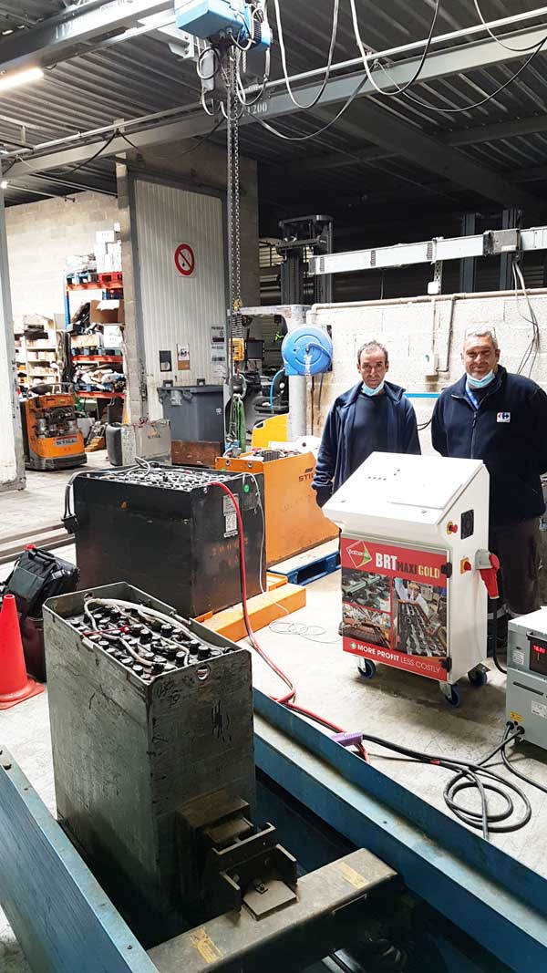 Carreffour Batteries Regeneration Regenerators Régénérateurs