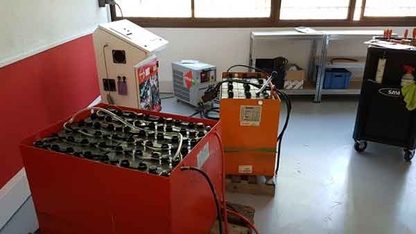 New regenerators center batteries Avignon France