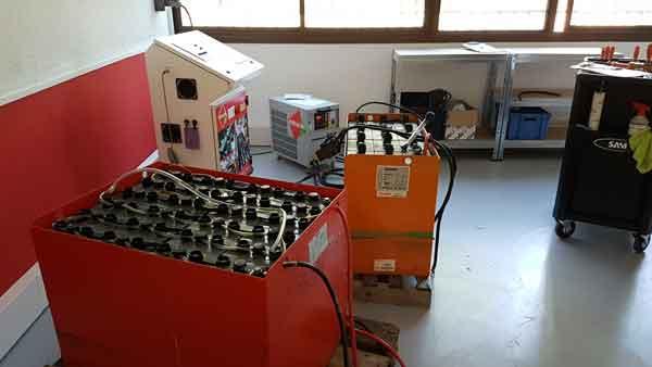New regenerators center batteries Avignon Fr
