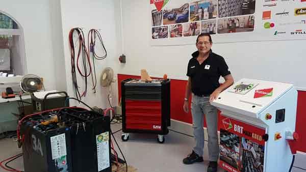 New regenerators center batteries Avignon France
