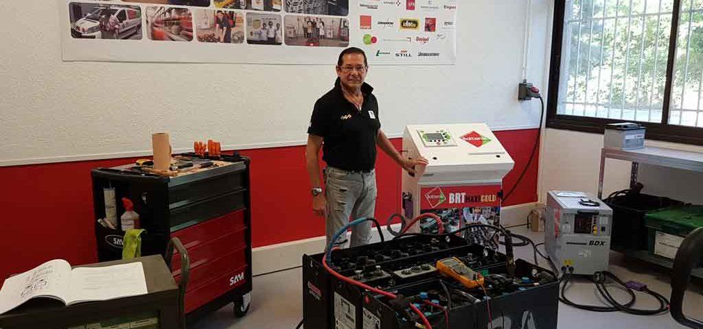 Nouveau centre de régénération de batteries Avignon France