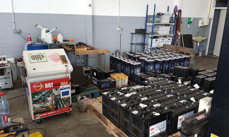 Régénération Batteries Guyane