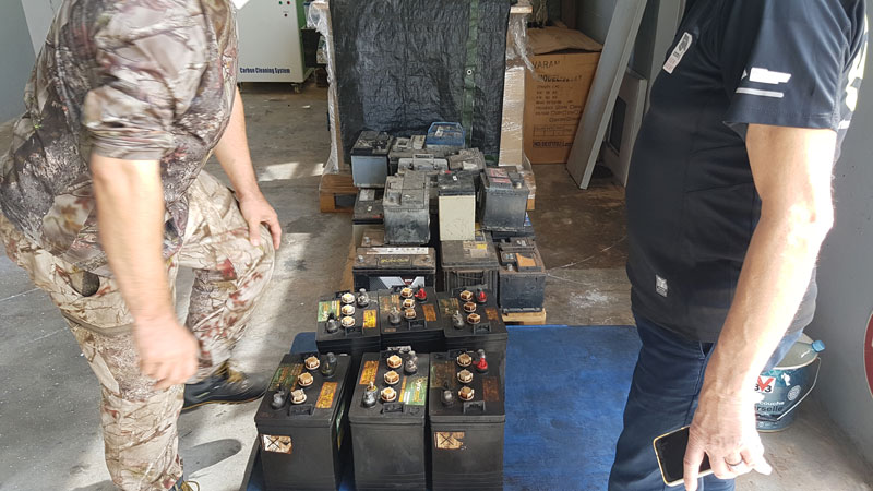 Regeneration Batteries Guyane